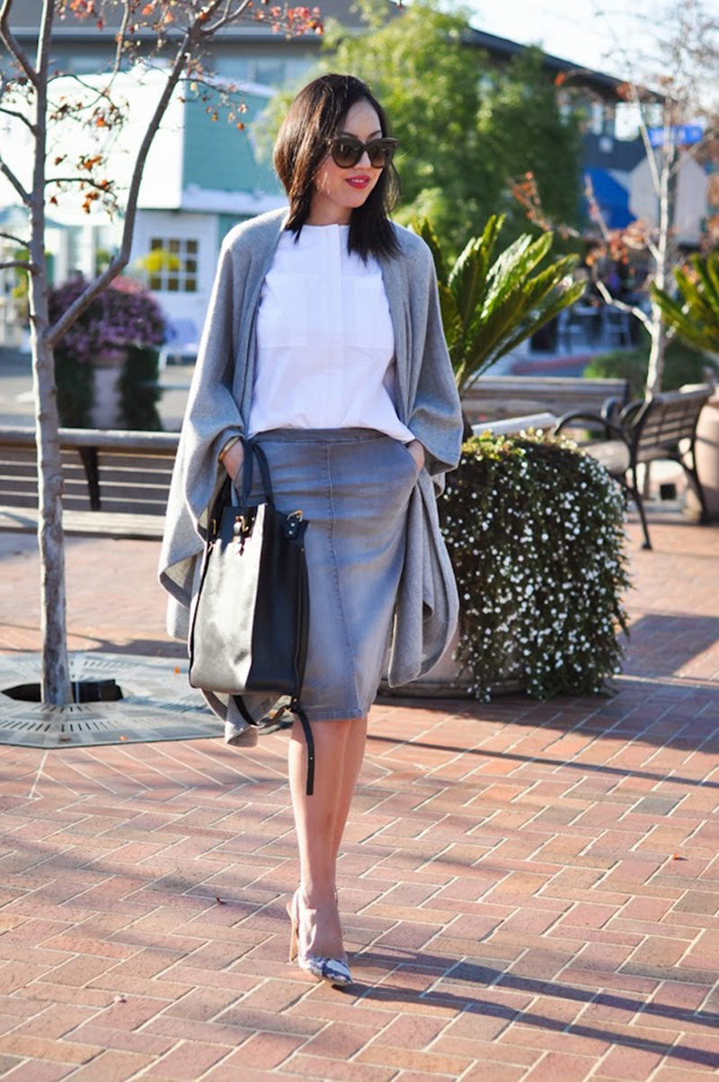 gray street style, gray fashion, gray inspiration (2)