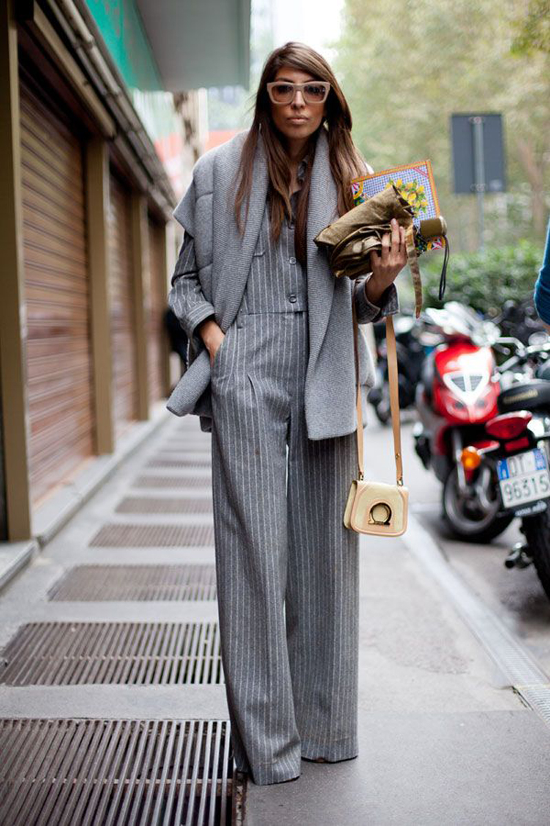 gray street style, gray fashion, gray inspiration (17)
