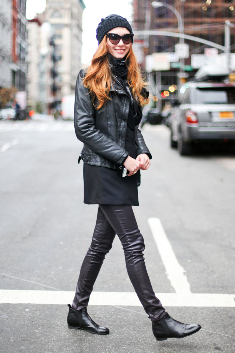 black inspiration, black street style, all black (18)