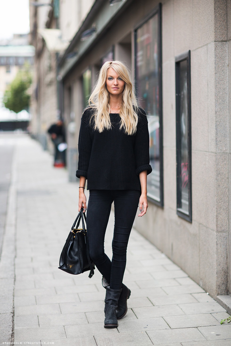 black inspiration, black street style, all black (9)