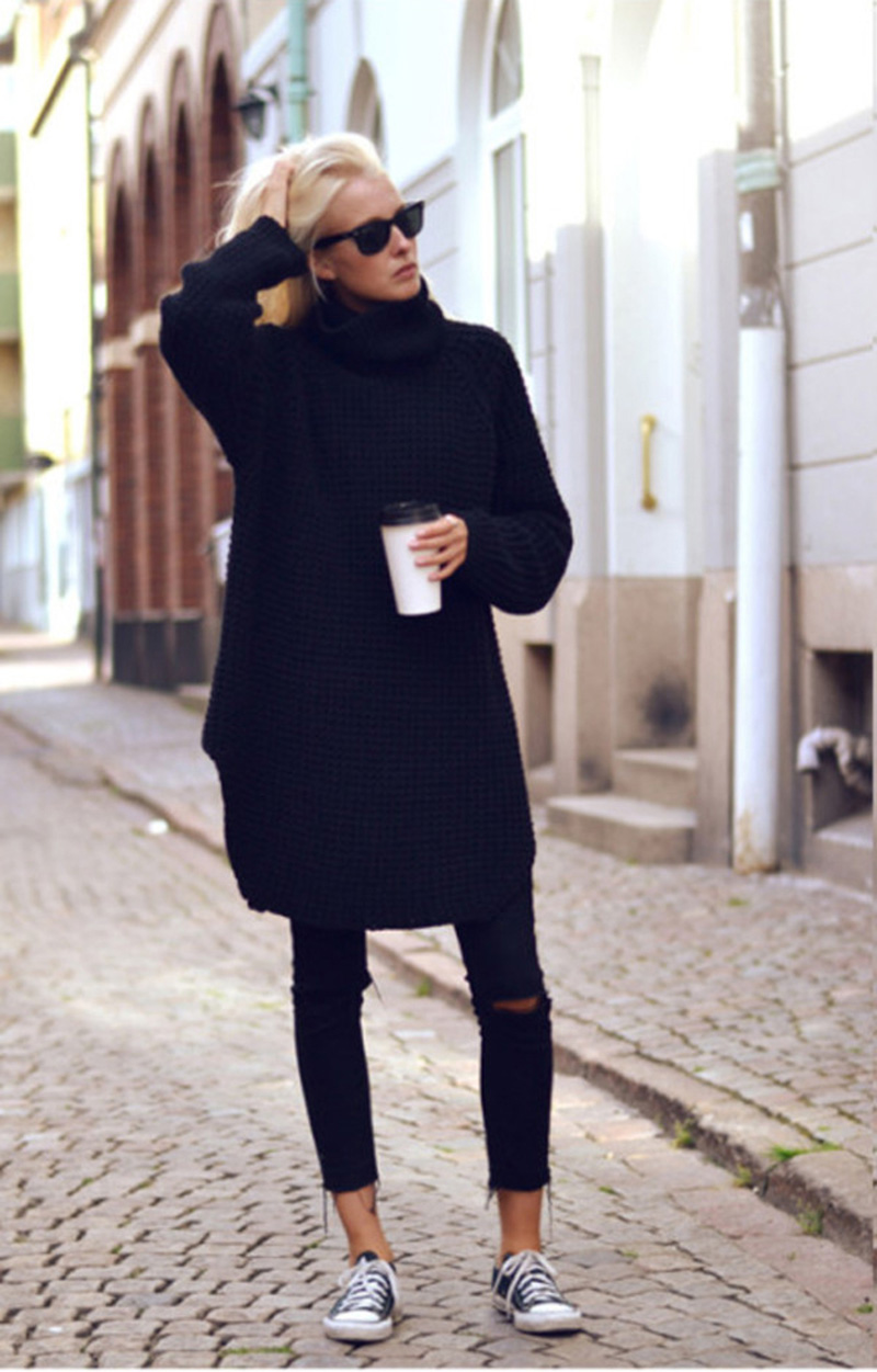 black inspiration, black street style, all black (2)