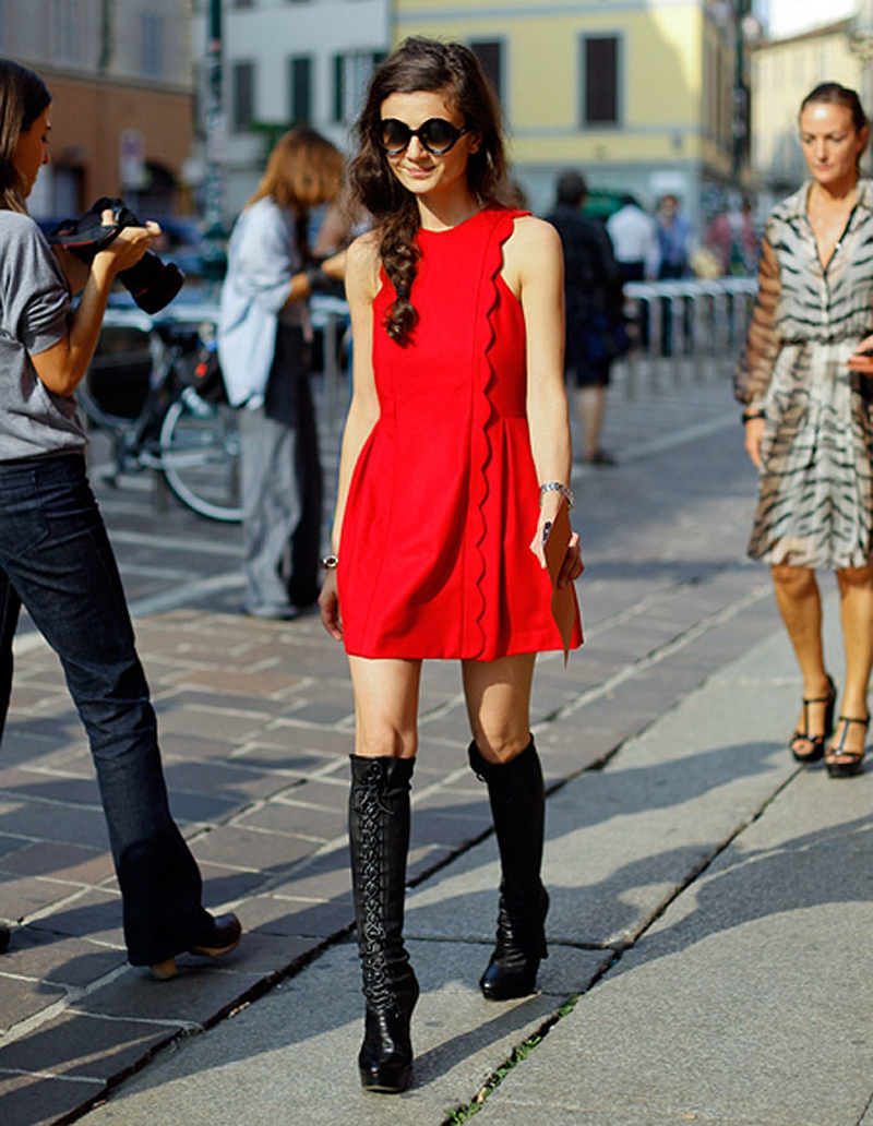 red street style, red fashion inspiration (12)