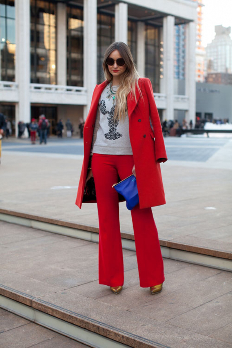 red street style, red fashion inspiration (9)