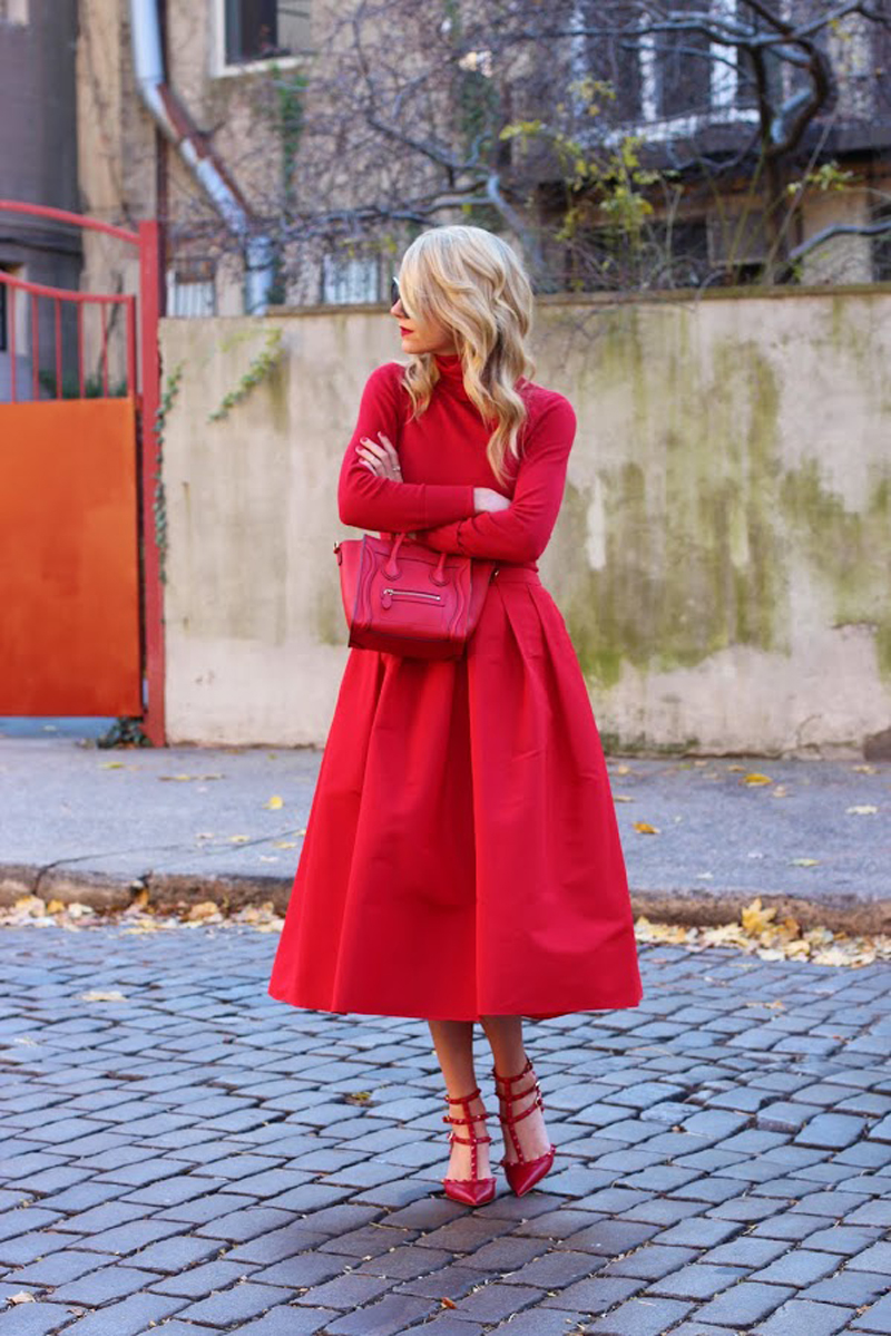 red street style, red fashion inspiration (8)