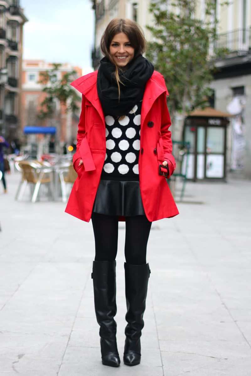 red street style, red fashion inspiration (6)