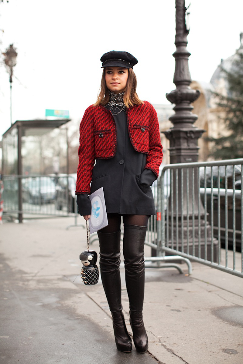 red street style, red fashion inspiration (4)