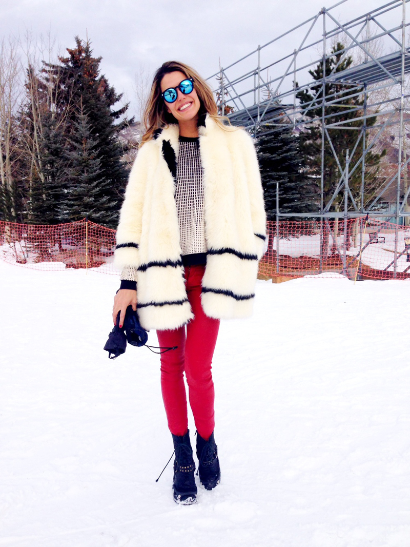 red pants, red leather pants, martha graeff