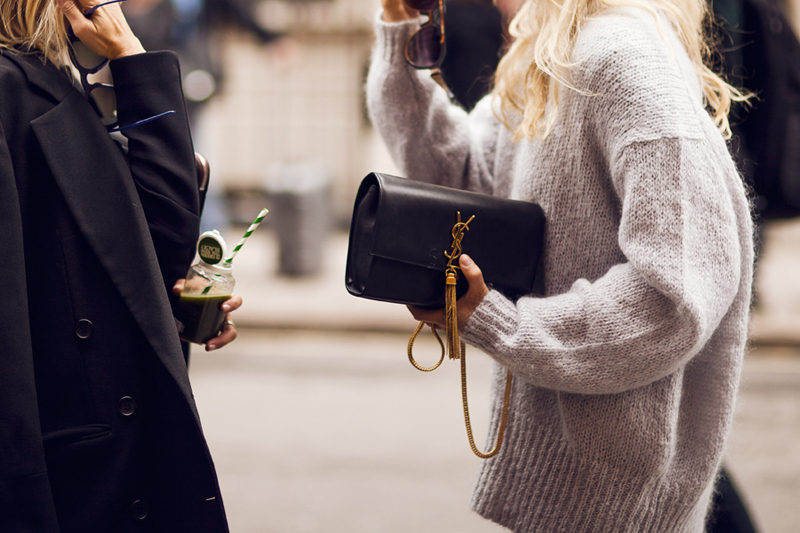 spotted || YSL CASSANDRE BAG | Chic obsession