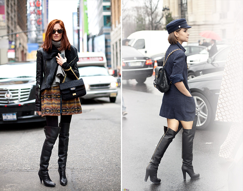thigh high boots, thigh high boots street style, (19)
