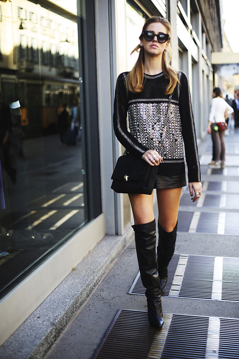 thigh high boots, thigh high boots street style, (8)