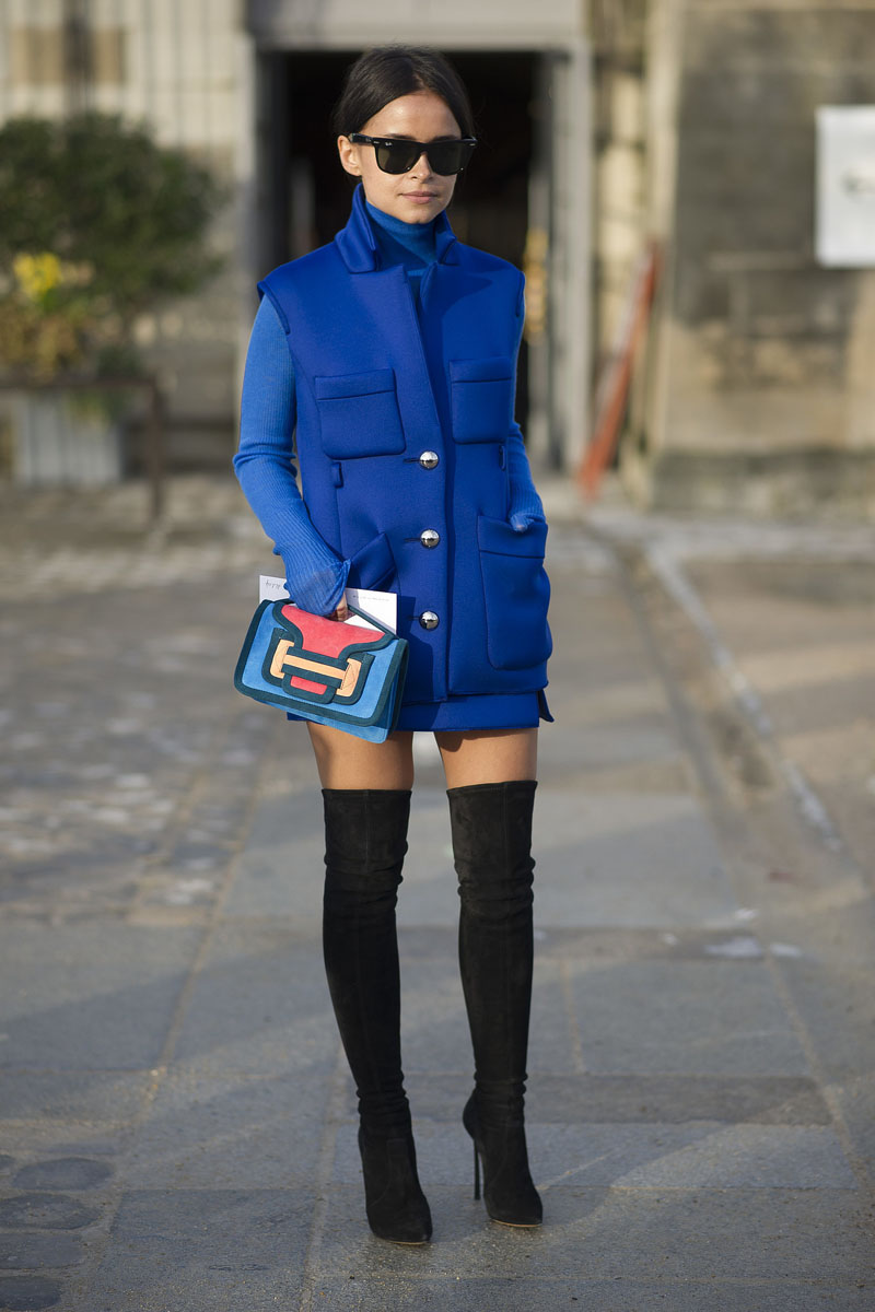 paris fashion week, fashion week aw14, paris street style, paris fashion week aw14 (6)