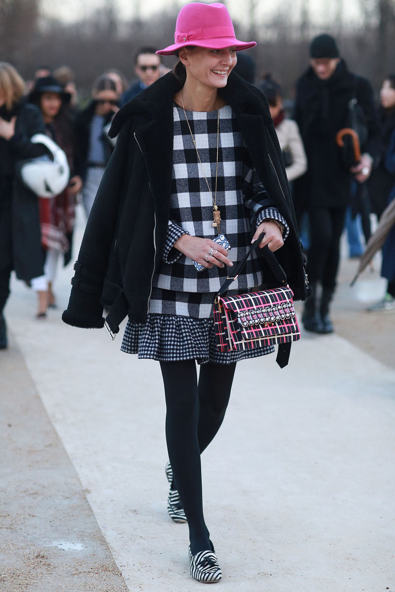 paris fashion week, fashion week aw14, paris street style, paris fashion week aw14 (1)