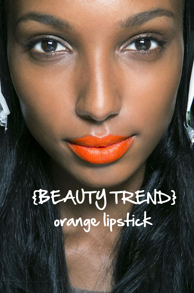 beauty || ORANGE LIPSTICK