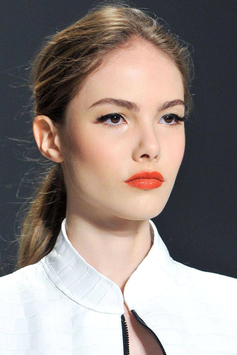 orange lips, orange lips trend (8)