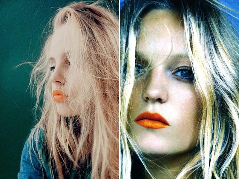 orange lips, orange lips trend (12)