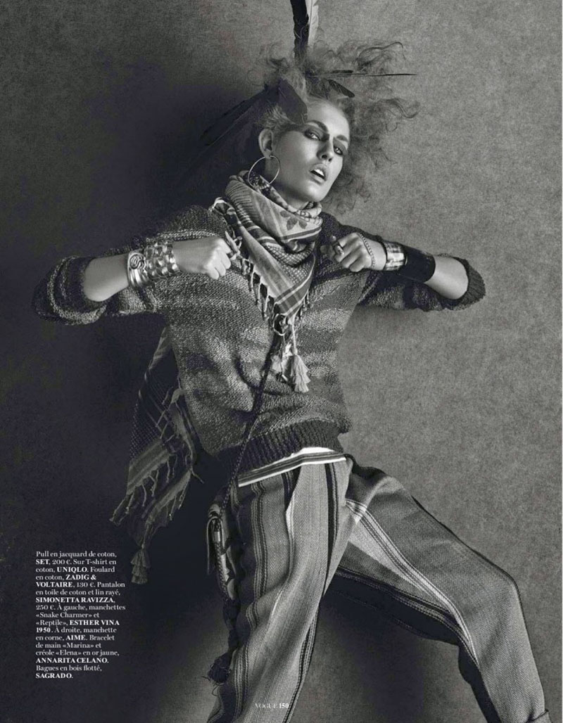 nadja bender, nadja bender vogue paris, (2)