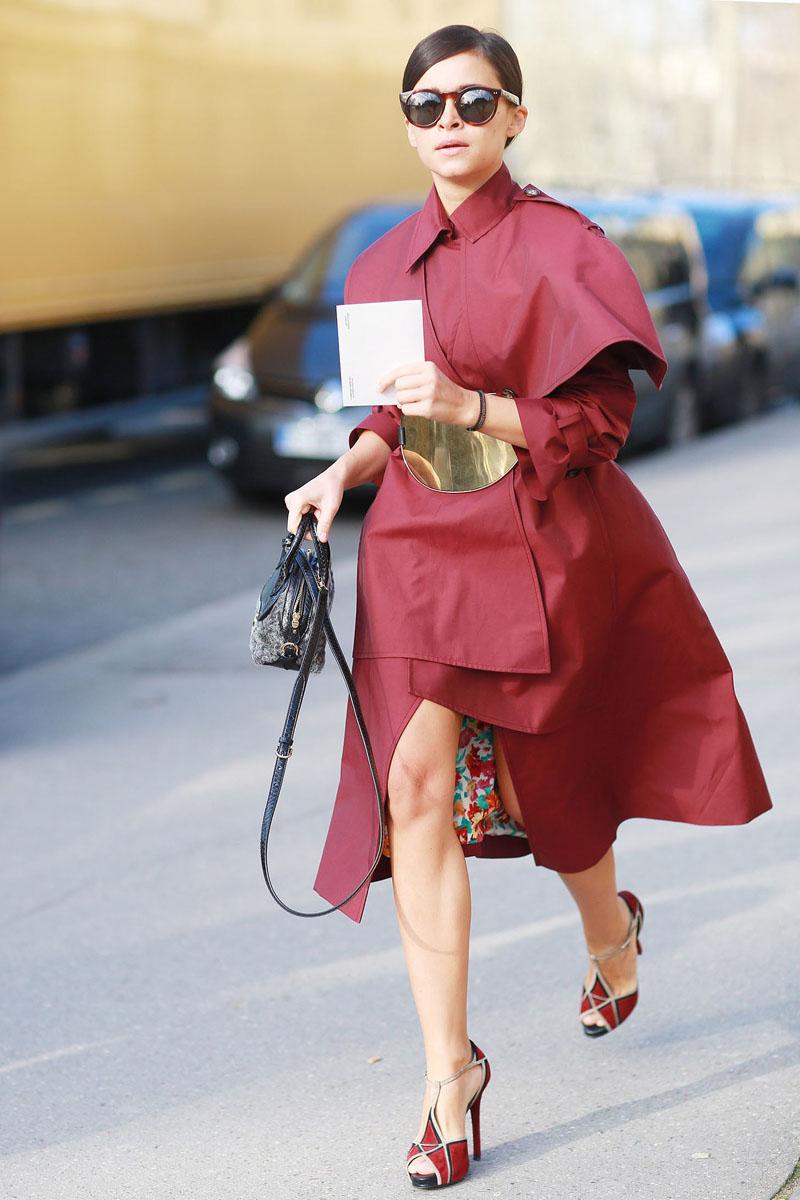 paris fashion week, fashion week aw14, paris street style, paris fashion week aw14 (12)