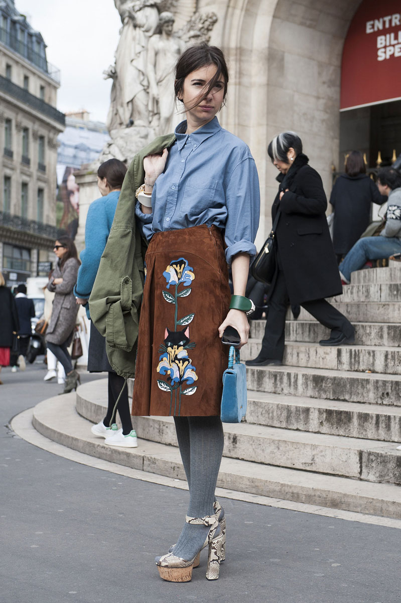 paris fashion week, fashion week aw14, paris street style, paris fashion week aw14 (8)