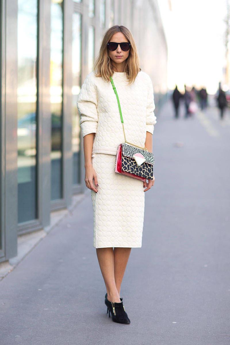 tres chic streetstyle || PARIS FASHION WEEK AW14 #2