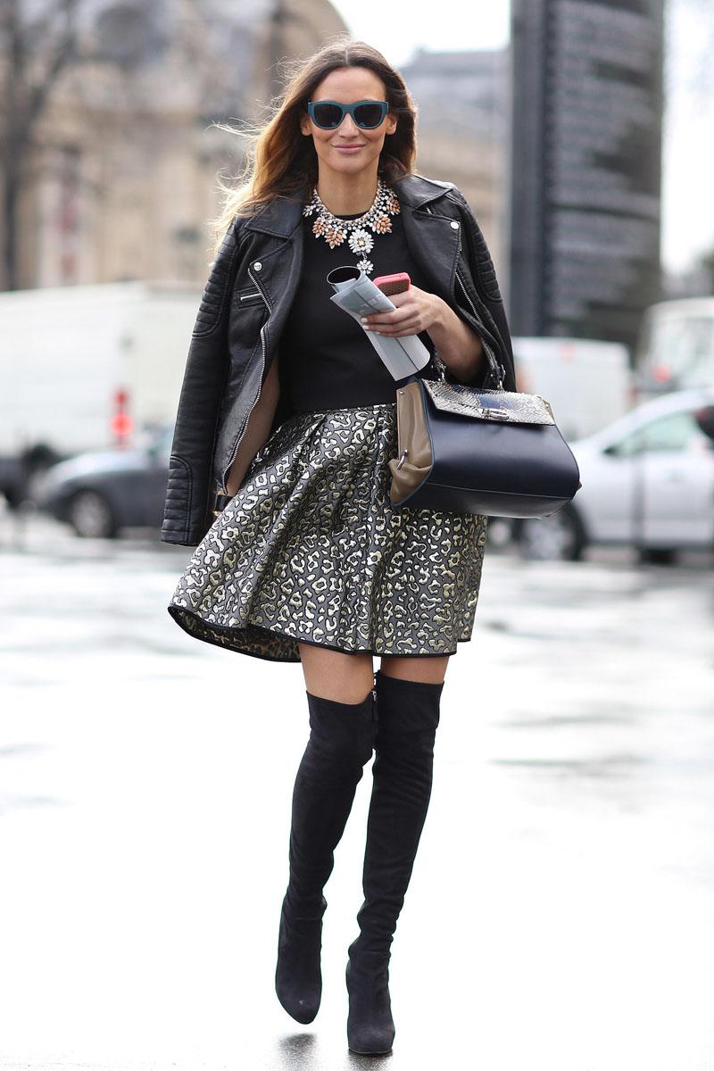 tres chic streetstyle || PARIS FASHION WEEK AW14 #3