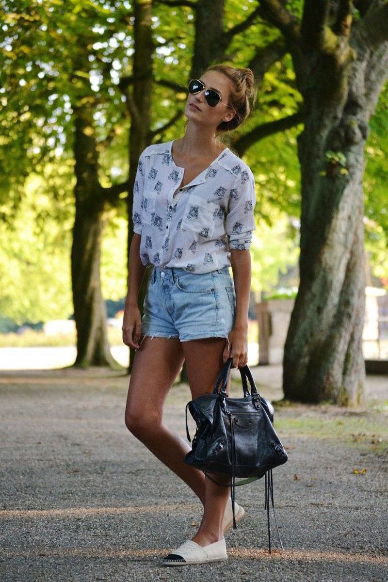 chanel espadrilles, chanel espadrilles street style (9)