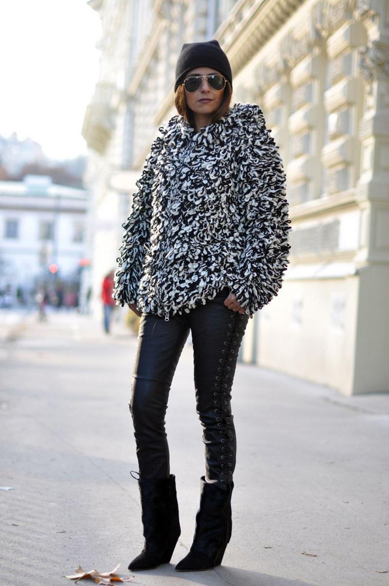 isabel marant leather trousers, isabel marant pour H&m leather trousers, isabel marant pour H&m (6)
