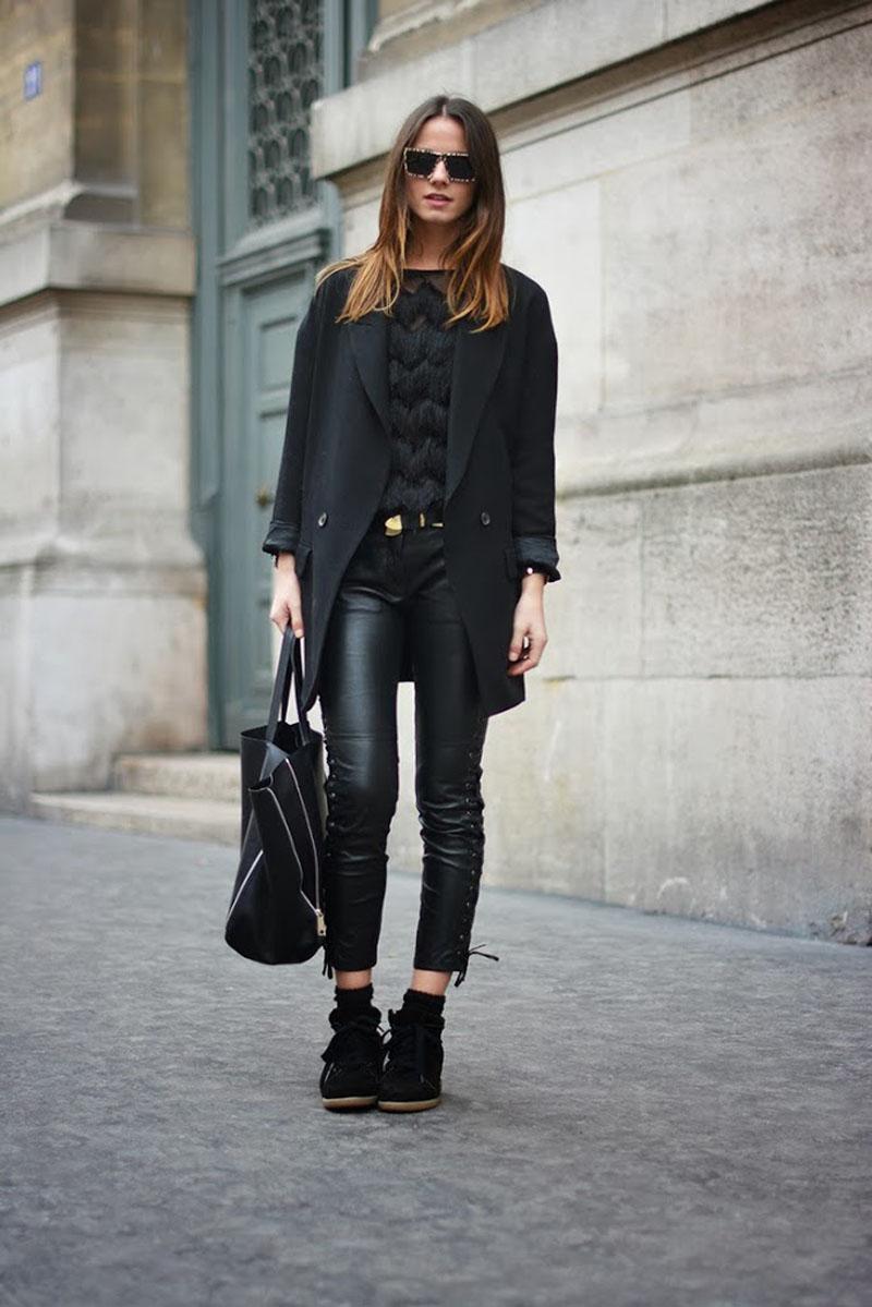 isabel marant leather trousers, isabel marant pour H&m leather trousers, isabel marant pour H&m (7)