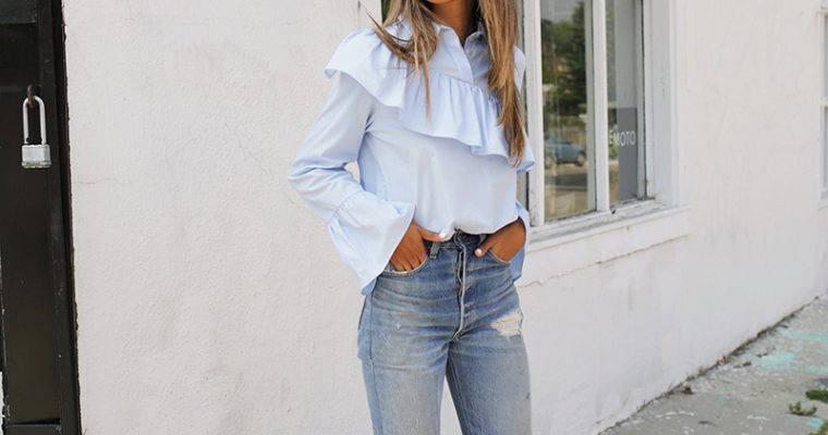 look of the day || RUFFLES. JULIE SARINANA