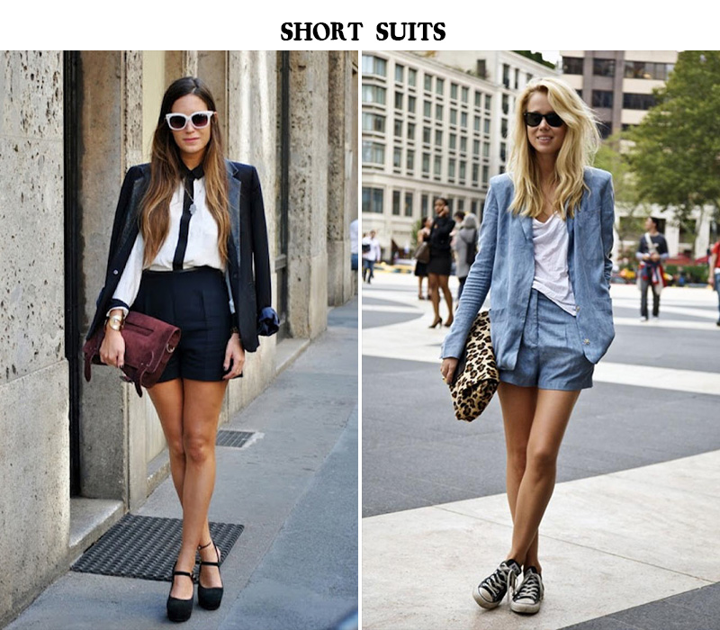 elin kling style, elin kling fashion icon, short suits trending, short suits street style