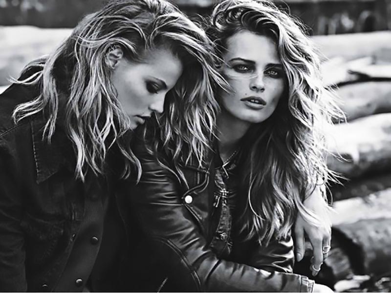 Photographer: Lachlan Bailey Models: Edita Vilkeviciute & Magdalena Frackowiak Styling: Felicia Garcia-Rivera Hair: Rudi Lewis Make-Up: Gucci Westman