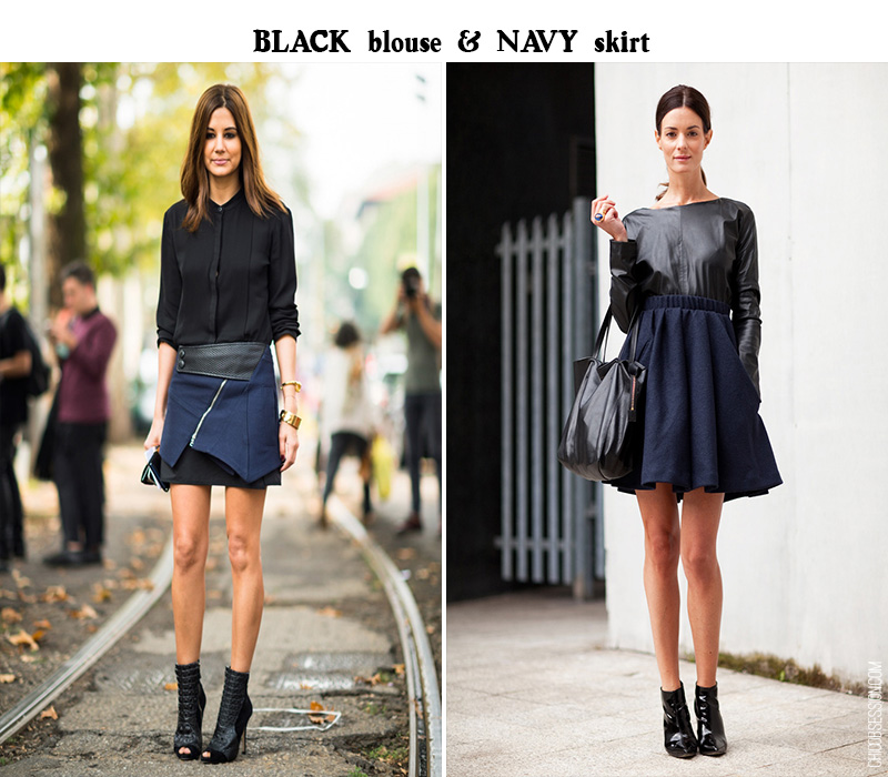 black navy trend, navy trend, christine centenera, Hedvig Opshaug