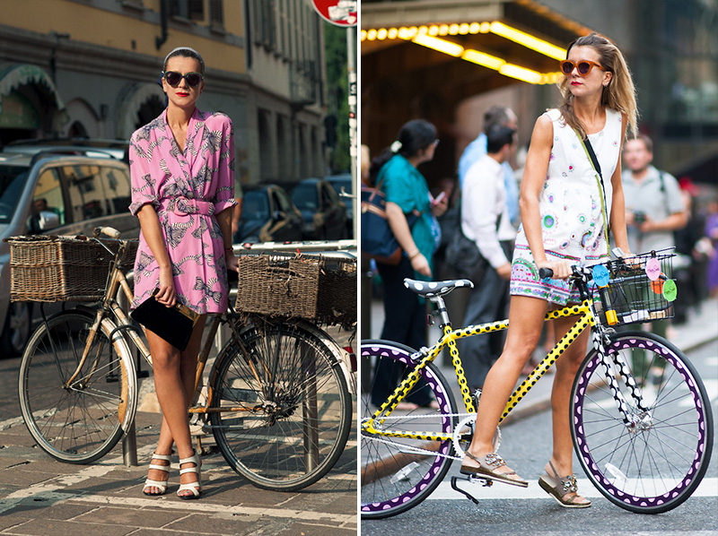 cycle chic, bicycle fashion, bicycle street style, natalie joos bicycle