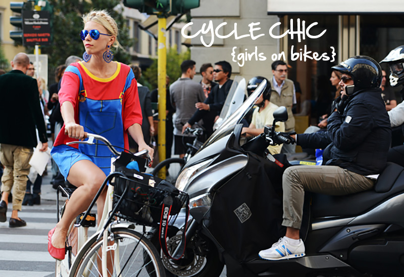 cycle chic, bicycle fashion