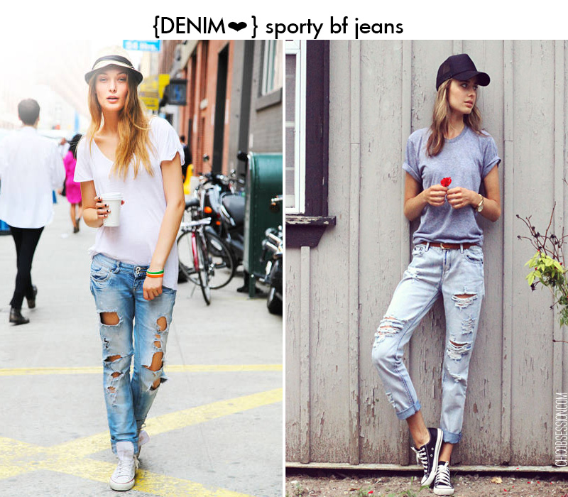 sporty boyfriend jeans, boyfriend jeans inspiration