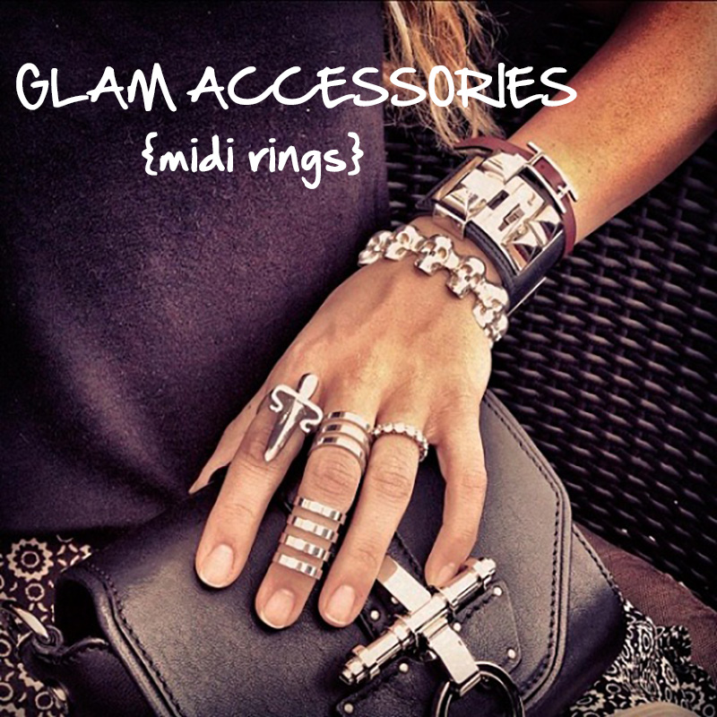 midi rings, phalanx rings, knuckle rings