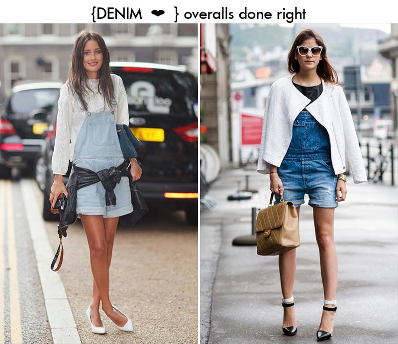 denim overalls, denim jumpsuit, overalls trend, overalls inspiration