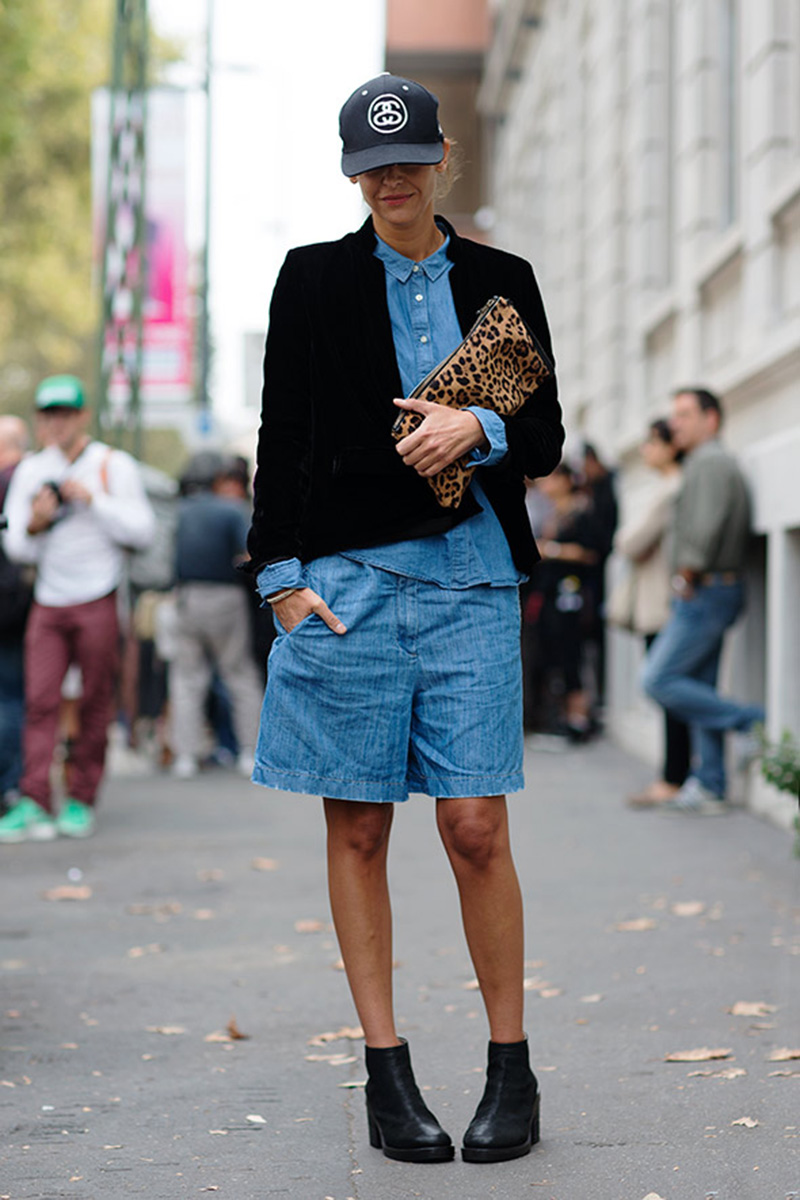 all denim, denim street style