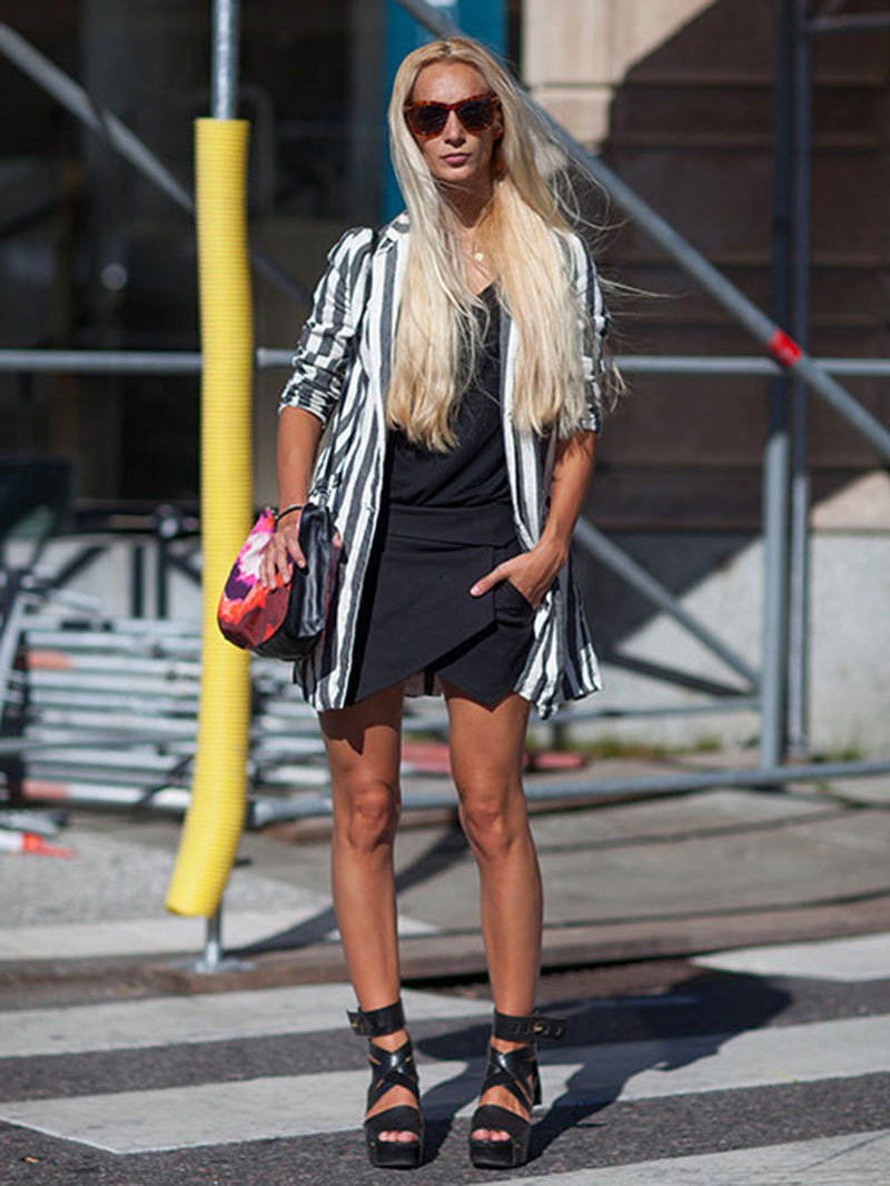 As promised, here is part 2 or the Stockholm fashion week. Love all the black outfits! (5)