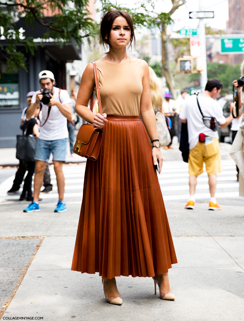 Miroslava Duma, Nasiba Adilova, Anna dello Russo and Giovanna Battaglia are only some of the stylish ladies that were followed by street style paparazzi around New York. Stay tuned dears for lots and lots of inspiration from the streets of London. (26)