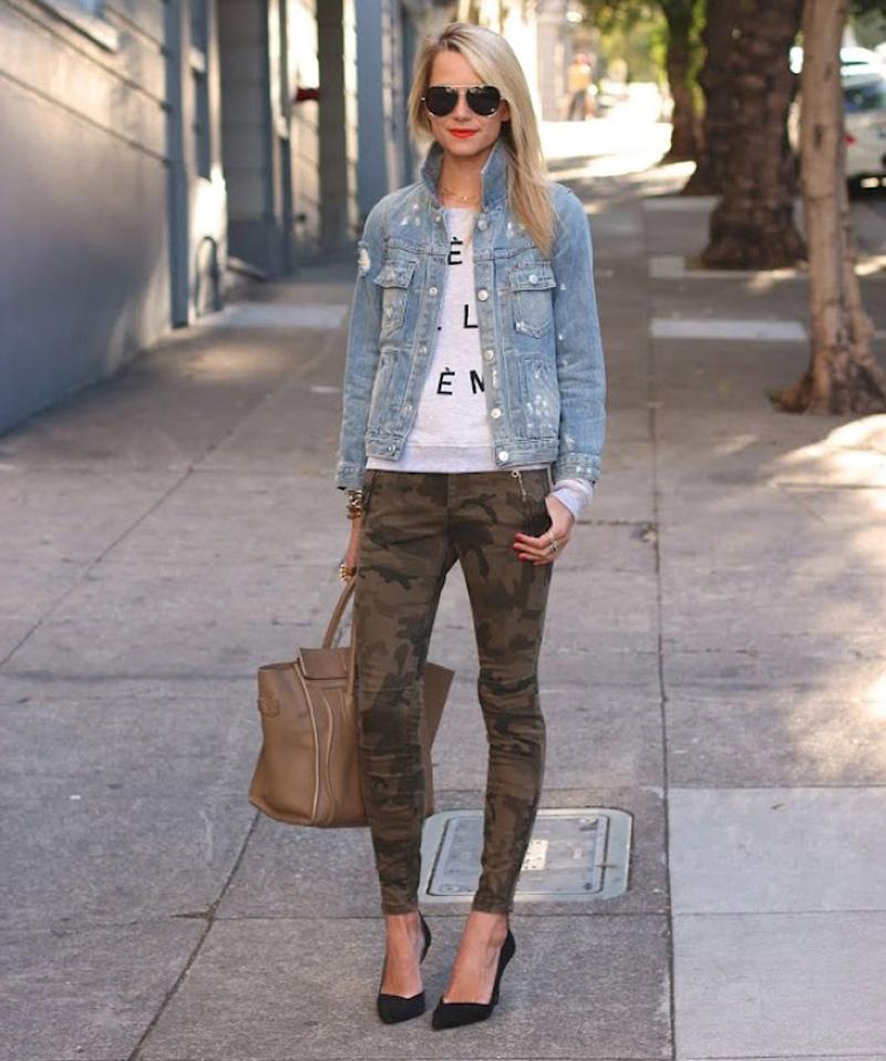 camo trend, camo inspiration, camo street style (6)
