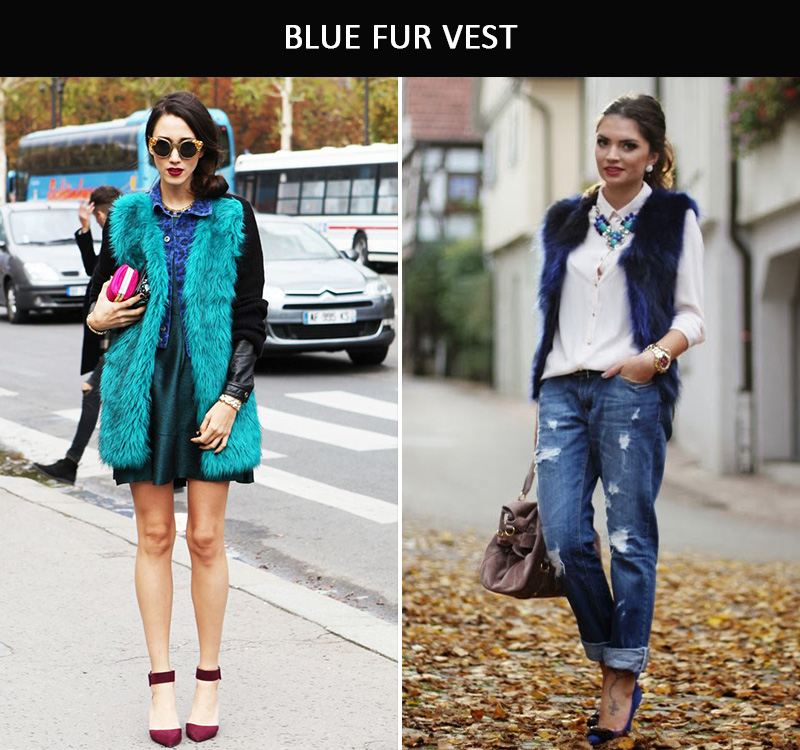 blue fur, blue fur coat,