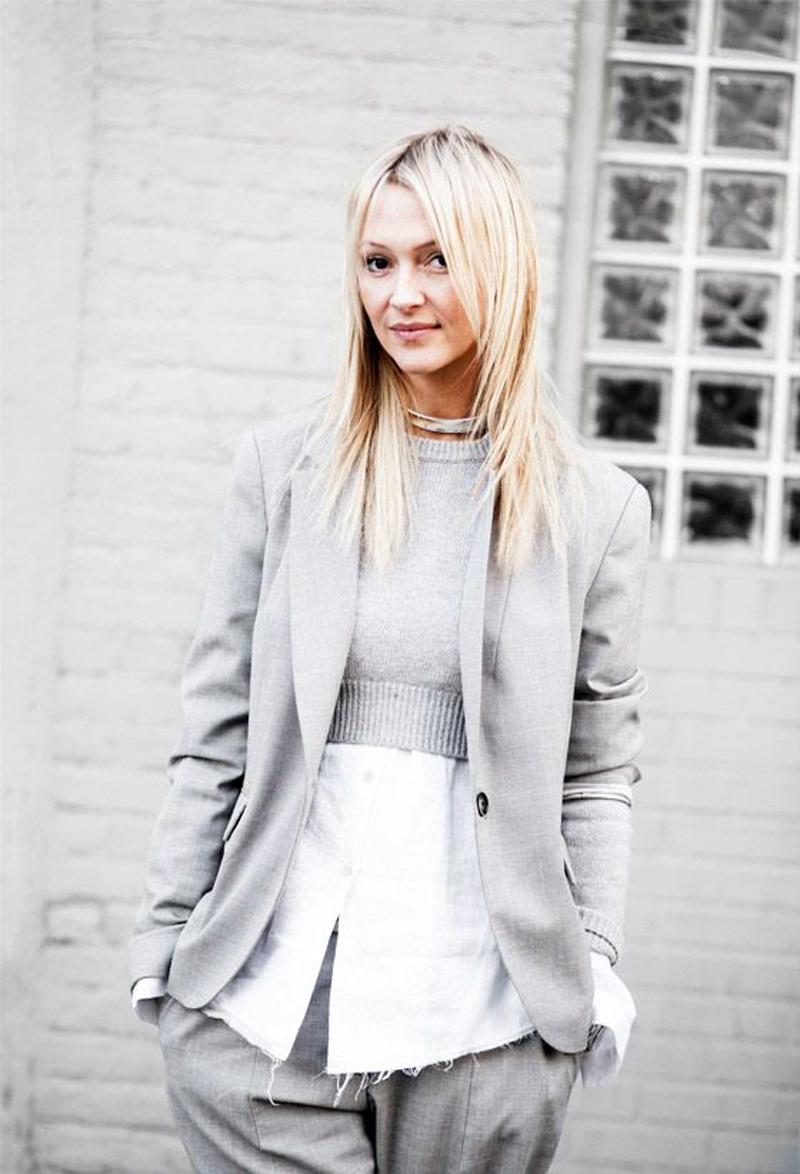 gray street style, gray fashion, gray inspiration (13)