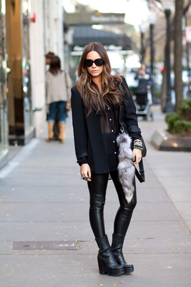 black inspiration, black street style, all black (20)