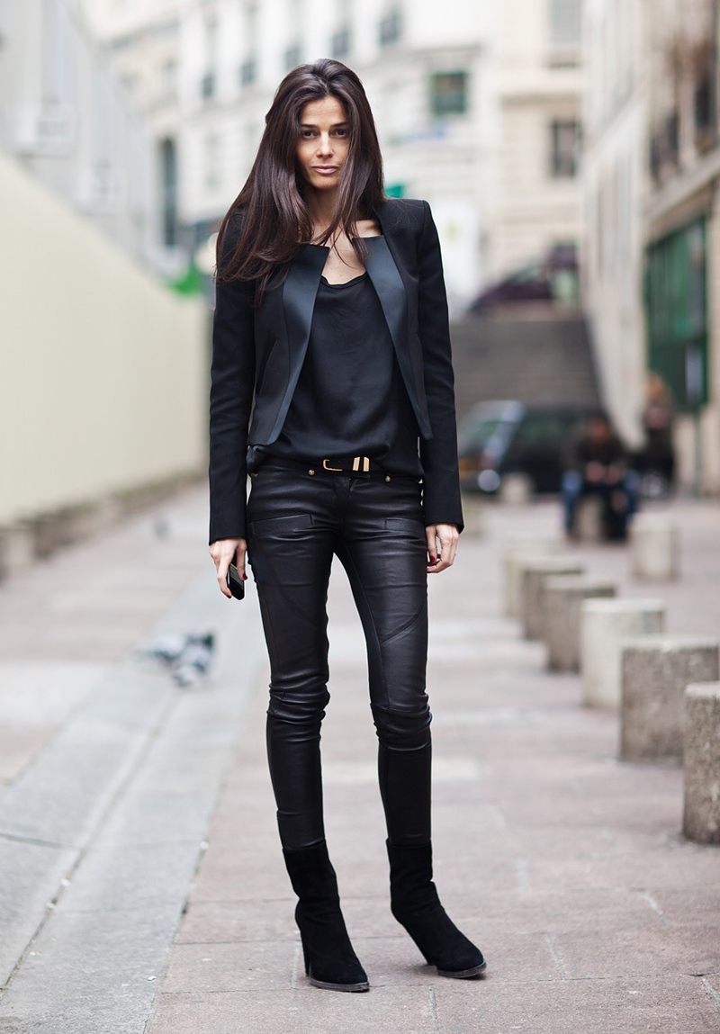 black inspiration, black street style, all black (14)