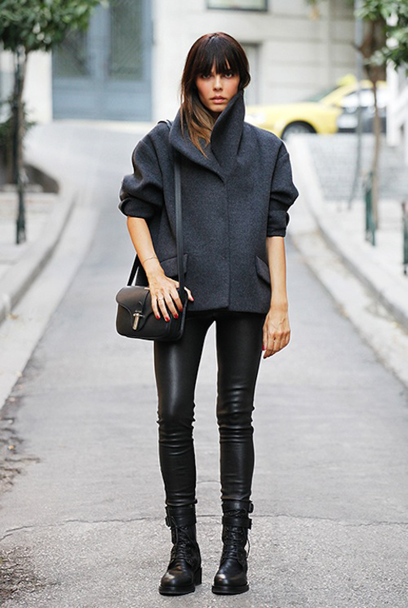black inspiration, black street style, all black (6)