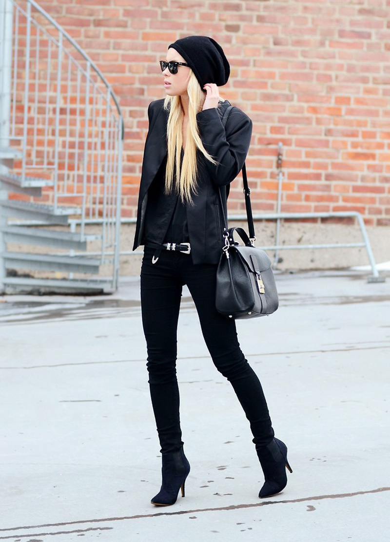 black inspiration, black street style, all black (25)