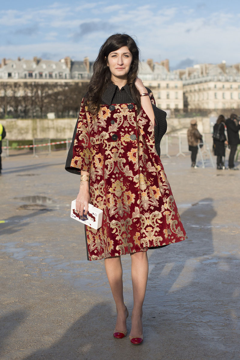 paris fashion week, fashion week aw14, paris street style, paris fashion week aw14 (4)