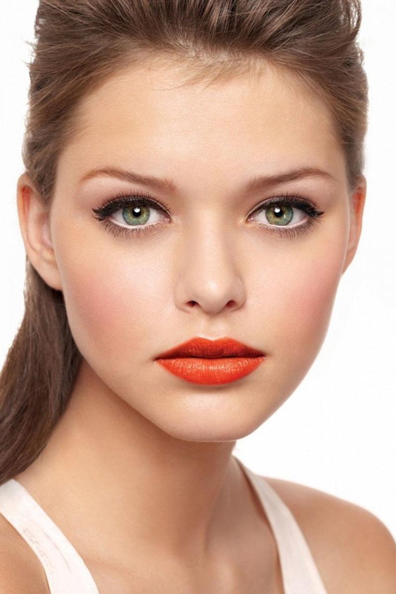 orange lips, orange lips trend (11)