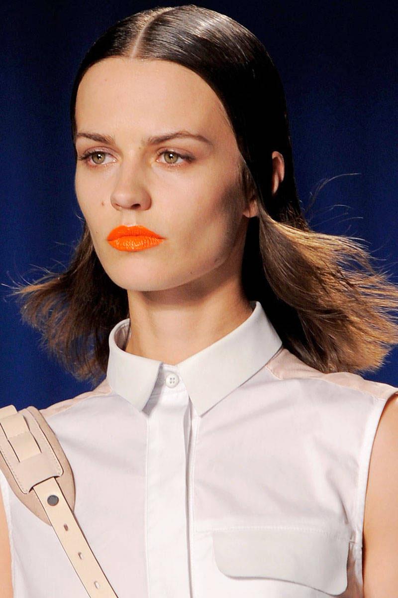 orange lips, orange lips trend (9)