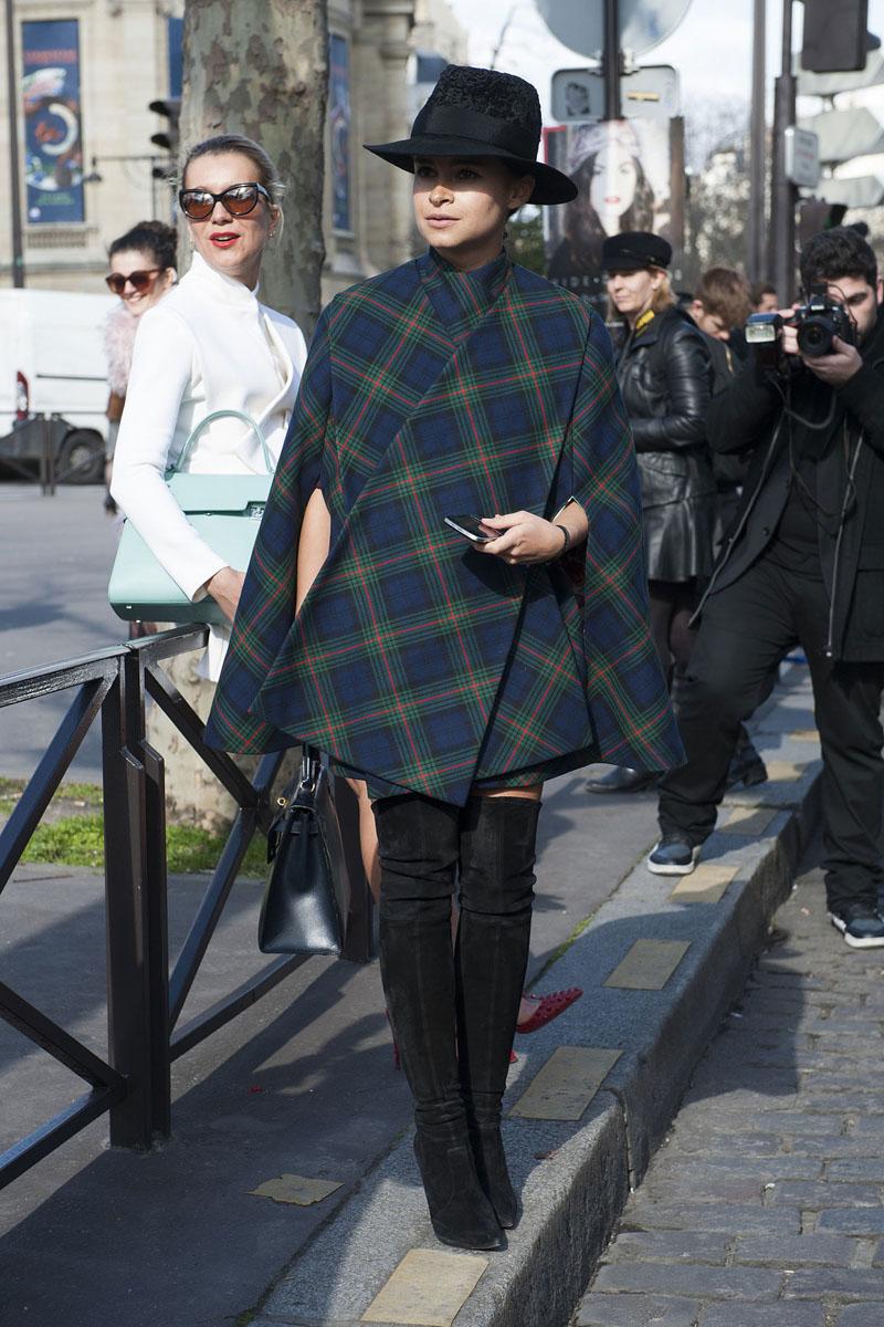 paris fashion week, fashion week aw14, paris street style, paris fashion week aw14 (4)